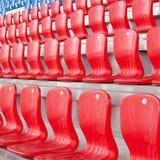 Sitze für Fans Lizenzfreies Stockfoto