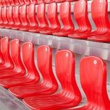 Sitze für Fans Stockfotos