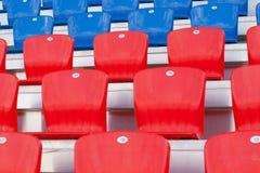 Sitze für Fans Stockbilder
