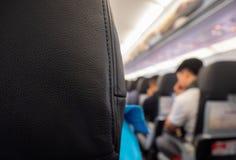 Sitze im Flugzeug stockfoto
