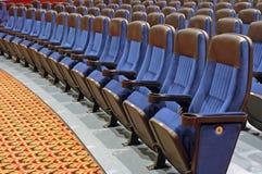 Sitze im Reiheen-Kapitel Lizenzfreie Stockfotos
