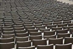 Sitze im Stadion Lizenzfreie Stockbilder