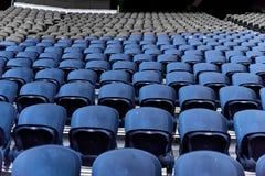 Sitze im Stadion lizenzfreies stockfoto