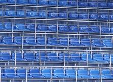Sitze im Stadion lizenzfreies stockbild