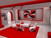 Sitzen-Raum Lizenzfreies Stockfoto
