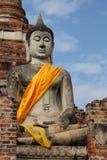 Sitzende Buddha-Abbildung Stockbild