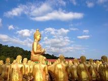 Sitzende Buddha-Abbildung Stockfotografie