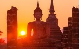Sitzende Buddha-Abbildung Lizenzfreies Stockbild