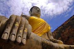 Sitzende Buddha-Abbildung stockfotos