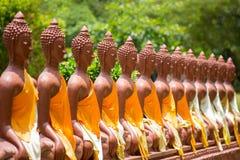 Sitzende Buddha-Abbildung Darstellung des Buddhas thailand Lizenzfreie Stockfotografie