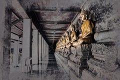 Sitzende Buddha-Abbildung Wat Arun, Temple of Dawn ist ein buddhistischer Tempel Stockfotografie