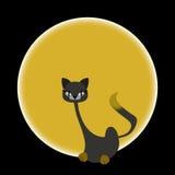 Sitzende Katze Stockfoto