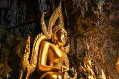 Sitzender Buddha Stockfoto