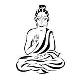 Sitzender Buddha 1 Lizenzfreie Stockfotos