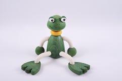 Sitzender Frosch Stockfotografie