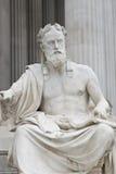 Sitzender Philosoph Stockbild