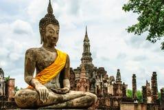Sitzendes Buddha-Bild Stockfoto