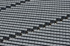 Sitzreihen Stockfotos