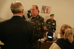 Sitzung der Militärführung Lizenzfreie Stockbilder