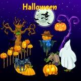 Sitzung des Geistes auf Halloween vektor abbildung