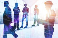 Sitzung, Teamwork, Vorrat und Gewinnkonzept Stockfotografie