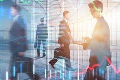 Sitzung, Teamwork, Vorrat und Marketing-Konzept Lizenzfreies Stockfoto