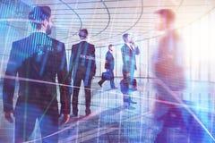 Sitzungs-, Investitions-, Teamwork- und Mengenkonzept stockbild