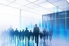 Sitzungs-, Teamwork- und Erfolgskonzept lizenzfreies stockfoto