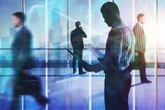 Sitzungs-, Teamwork-, Vorrat- und Managementkonzept Stockfotos