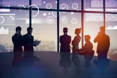 Sitzungs- und Erfolgskonzept lizenzfreies stockfoto