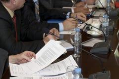 Sitzungshände 2 Lizenzfreies Stockfoto