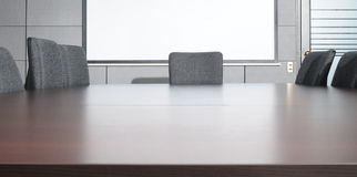 Sitzungssaal. Stockbild