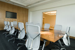 Sitzungssaal-Innenraum Stockfotografie