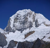 Siula mountain in high Andes Stock Image