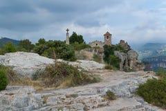 Siurana, Catalonië Royalty-vrije Stock Afbeeldingen