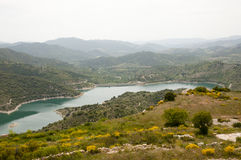 Siurana Dam - Spain Royalty Free Stock Photos