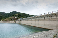 Siurana Lagoon Dam Royalty Free Stock Image