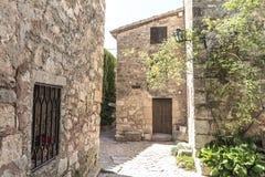 Siurana mountains in Spain, Tarragona Royalty Free Stock Photos