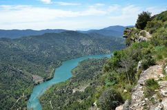 Siurana's surroundings in the Prades mountains Stock Image