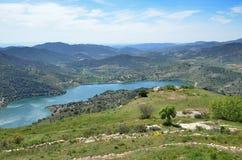 Siurana's surroundings in the Prades mountains Royalty Free Stock Photos