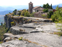 Siurana ( Spain ) Royalty Free Stock Photo