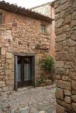 Siurana, um Highland Village foto de stock royalty free