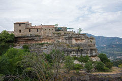 Siurana Village in the Prades Mountains Royalty Free Stock Photography