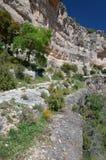 Siuranaklippen van Catalonië in de lente Stock Foto