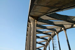 Siuslawbrug in Florence, Oregon Royalty-vrije Stock Foto's