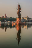 Siva Λόρδου, sursagar, Μπαρόδα, Ινδία Στοκ Φωτογραφίες