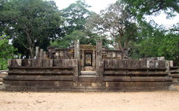 Siva Devale en Polonnaruwa Imagenes de archivo
