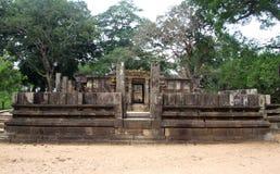 Siva Devale in Polonnaruwa Stock Afbeeldingen