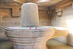 Siva Lingam, Hampi, India royalty free stock photo