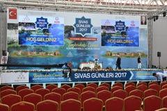 Sivas dagar 2017 Ä°stanbul, Turkiet Arkivfoto